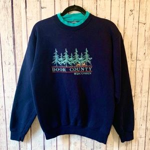 Vintage Door County Wisconsin Sweatshirt